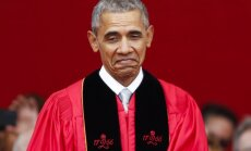 B. Obama Rutgerso universitete