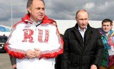 Kritiką atlaikęs V. Mutko ir toliau vadovaus Rusijos futbolui