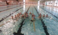 Plaukimo varžybų Elektrėnuose dalyviai
