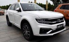 Kinai nukopijavo Volkswagen Tiguan automobilį