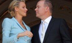Charlene Wittstock susituokė su princu Albertu II