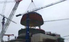 """Kupolu uždengtas """"Hualong One"""" branduolinis reaktorius"""
