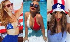 Paris Hilton, Christina Aguilera, Tyra Banks