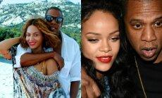Beyonce, Rihhana, Jay Z