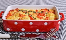Bulvių apkepas su pomidorais