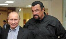 Stevenas Seagalas ir  Vladimiras Putinas