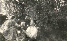 Salomėja su vyru ir šeima