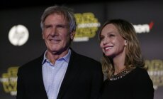 Harrison Ford su žmona Calista Flockhart