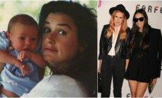 Rumer Willis su mama Demi Moore