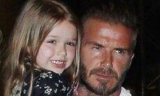 Davidas Beckhamas ir Harper