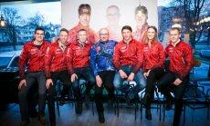 Lietuvos biatlono federacijos spaudos konferencija ir aprangos pristatymas