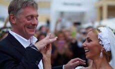Dmitry Peskov at his wedding with Tatyana Navka