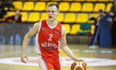 """Dovis Bičkauskis (Marijampolės """"Sūduva-Mantinga"""" žaidėjas)."""