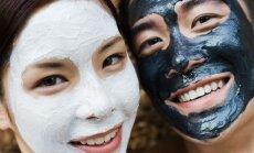 Dantų pastos ir angliuko veido kaukės
