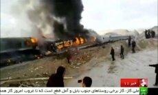 Traukinių avarija Irane