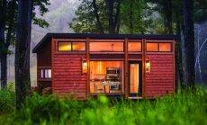 25 kv.m namelis už 59 tūkst. eurų: kompaktiško gyvenimo koncepcija
