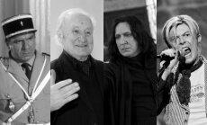 Michelis Galabru, Vytautas Nasvytis, Alanas Rickmanas, Davidas Bowie