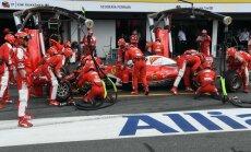 F-1 Ferrari komanda