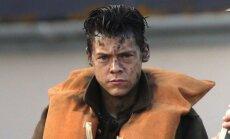 Harry Stylesas, kadras iš filmo Diunkerkas