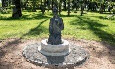 Šv. Onos skulptūra iš Jeruzalės