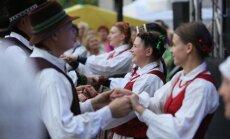 Studentų folkloro festivalis O kieno žali sodai (LLKC nuotr.)