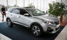 Peugeot 5008 šią savaitę galima pamatyti Vilniuje