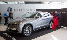 Alfa Romeo Stelvio automobilio pristatymas
