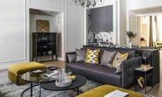 90 kv.m butas Vilniaus senamiestyje: įkvėpimas pokyčiams