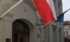 Lenkijos ambasada Lietuvoje, Lenkijos vėliava