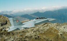 Šveicarijos naikintuvas F/A-18 Hornet