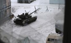 russian tanks in Avdiyvka, Ukraine