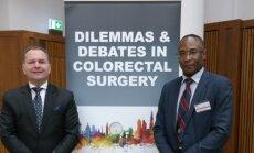 Prof. Narimantas Evaldas Samalavičius ir dr. Joseph Nunoo-Mensah.