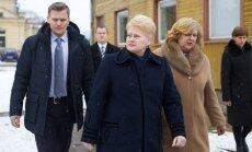 Dalia Grybauskaitė ir Rimantė Šalaševičiūtė