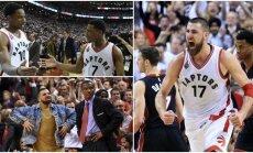 """Didžiausios """"Raptors"""" pergalės – dar priešakyje? (AP ir Reuters nuotr.)"""