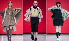"""""""Mados infekcija"""" (II): dizaineriai stebino rūbais iš kiliminės dangos ir vyriškais sijonais"""