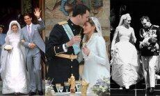 Princas Pavlosas ir Marie-Chantal Miller, karalius Felipe ir Letizia Ortiz, princas Rainieris III ir Gacie Kelly