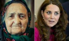 Močiutė ir Kate Middleton