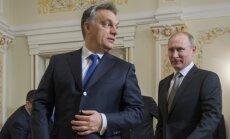 Viktoras Orbanas, Vladimiras Putinas