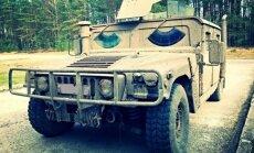Karinio Humvee testas