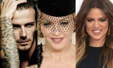 Davidas Beckhamas, Madonna, Khloe Kardashian