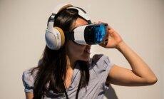 Samsung pristatė virtualios realybės šalmą Gear VR