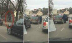 Kaune apšlapinta Prezidentūros tvora