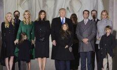 Donaldo Trumpo šeima Vašingtone