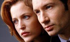 X Failai. Noriu tikėti aktoriai David Duchovny ir Gillian Anderson