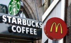 Starbucks ir McDonald's