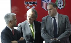 JAV, Meksikos ir Kanados futbolo federacijų prezidentai