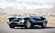 Aukcione parduodamas itin retas Jaguar XKSS