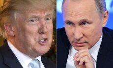 Donaldas Trumpas ir Vladimiras Putinas