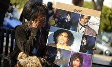 Pasaulis gedi dainininko Prince'o