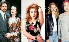 Bradas Pittas su mylimosiomis Juliette Lewis, Christina Applegate, Gwyneth Paltrow
